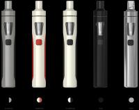 Joyetech eGo AIO elektronická cigareta 1500mAh | biela/červená, čierná, striborná, čierna/šedá, čierná/biela
